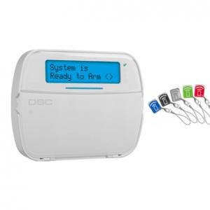 DSC NEO – HS2LCDPE1 LCD πληκτρολόγιο με ενσωματωμένο PROXIMITY αναγνώστη.
