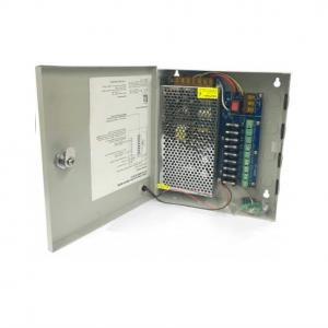 Πίνακας Τροφοδοσίας 12V/10A με κατανεμητή