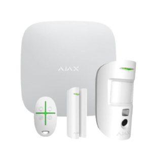 AJAX StarterKit Cam (White) Ασύρματος συναγερμός.