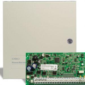 DSC – PC1616NKE Πίνακας 6/16 ζωνών με Μεταλλικό Κουτί.