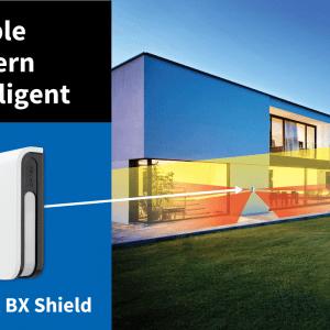 OPTEX – BXS-ST Ενσύρματος υπέρυθρος εξωτερικός ανιχνευτής κίνησης.