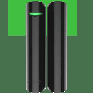 Ajax DoorProtect (Black) Μαγνητικός ανιχνευτής πόρτας και παραθύρου
