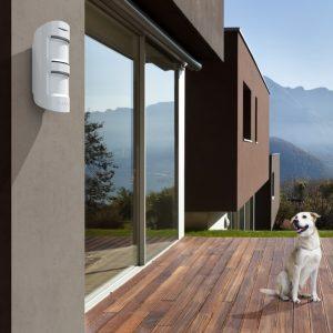 Ajax MotionProtect Outdoor (white) Ανιχνευτής Κίνησης Εξωτερικού Χώρου