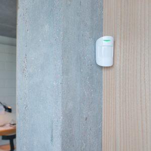 Ajax MotionProtect Plus (White) Ανιχνευτής Κίνησης & λειτουργία αποφυγής κατοικιδίων
