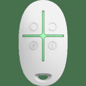 Ajax Space Control (White) Τηλεκοντρόλ AJAX