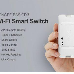 Wifi Διακόπτης DIY  SonOff Basic R3
