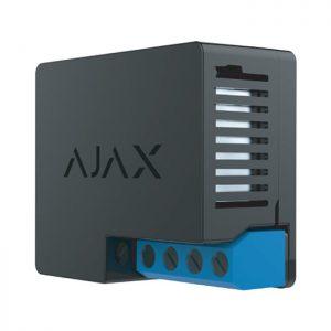 Ajax WallSwitch (Black) ελεγκτής οικιακών συσκευών και αυτοματισμών έξυπνου σπιτιού