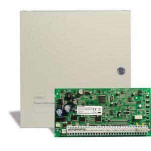 DSC Power – PC1864NKE Πίνακας 8/64 ζωνών με Μεταλλικό Κουτί.