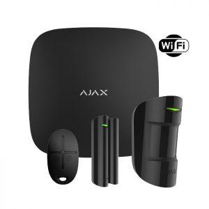 AJAX Starter Kit Plus (Black) Wifi Ασύρματος συναγερμός