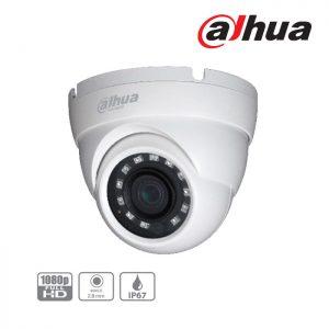 DH-HAC-HDW1200M-0280B-S4 Κάμερα Dome 2MP με φακό 2,8mm IR 30m