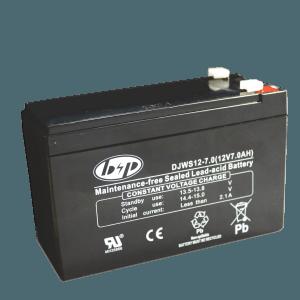 Επαναφορτιζόμενη μπαταρία μολύβδου 12V, 7Ah.
