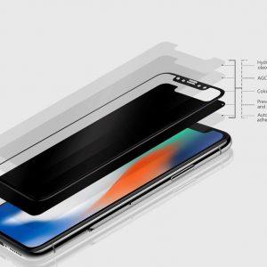 Προστατευτικό οθόνης Curved Edge από γυαλί 3D για iPhone 11 Pro Max Μαύρο i11promaxb