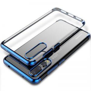 Θήκη TPU Slim για Huawei P20 Pro – Phone Case Διάφανο Κόκκινο
