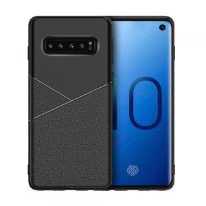 Θήκη ultra slim σιλικόνης Μαύρη για Samsung Galaxy s10 TPU3v3b