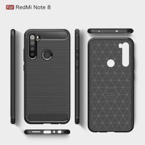Θήκη carbon fiber για Xiaomi Redmi Note 8.