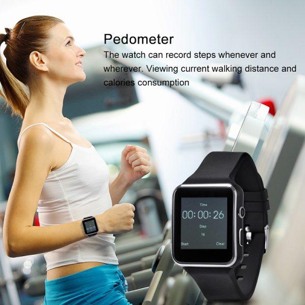 Smart Watch X6 - Έξυπνο ρολόι τηλέφωνο με SIM και κάμερα
