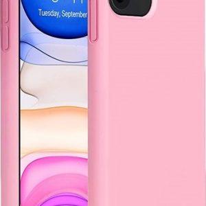 Θήκη Σιλικόνης Ρόζ Soft TPU για iPhone 11 i11tpup