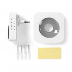 Ασύρματο κουδούνι 2 δεκτών με δυνατότητα αυξομείωσης της έντασης, NEDIS DOORB121CWT2