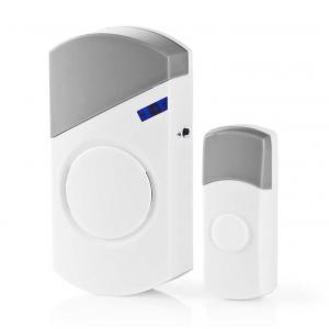 Ασύρματο κουδούνι με επιλογή ήχου και δέκτη με τροφοδοσία 220-240V. NEDIS DOORB120CWT