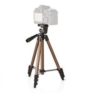Τρίποδας αλουμινίου 128 cm για φωτογραφικές μηχανές.TPOD2100BZ
