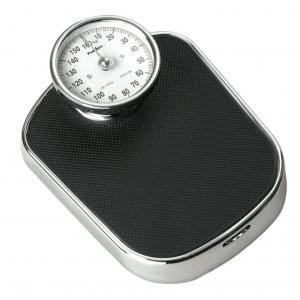 Αναλογική ζυγαριά μπάνιου, με ρετρό design. PESC110ABK