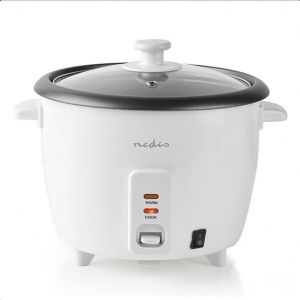 Βραστήρας ρυζιού 1,5L, σε λευκό χρώμα. KARC15WT