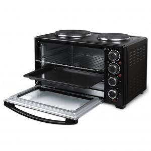 Ηλεκτρικό κουζινάκι 30L, με κυκλοφορία θερμού αέρα και 2 εστίες, 3200W.Life Kouzinaki 302