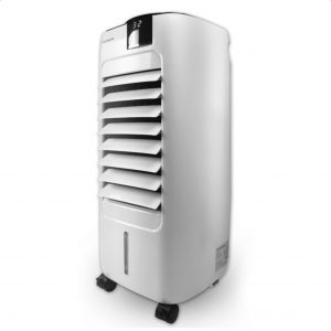 Air cooler με λειτουργία ψύξης μέσω εξάτμισης νερού και οθόνη LED.