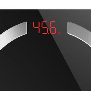 Bluetooth ηλεκτρονική ζυγαριά μπάνιου με δωρεάν application και 12 μετρήσεις.LIFE Smartweight BT
