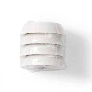Αντικραδασμικά πέλματα πλυντηρίου, 4 τεμ. NEDIS WASA110WT4B