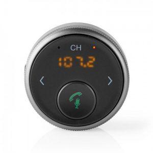 Bluetooth αναμεταδότης FM και hands free οθόνη LED.