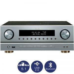 Ραδιοενισχυτής 5.1 karaoke με Bluetooth και USB Akai AS005RA-750BT