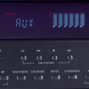Ραδιοενισχυτής karaoke με Bluetooth και USB – 90 W Akai AS110RA-320BT