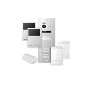 Ολοκληρομένο σύστημα θυροτηλεόρασης για 4 διαμερίσματα. PROXY – KIT 4
