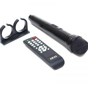 Φορητό ηχείο Akai SS023A-X10 Bluetooth με Eνισχυτή, USB, SD, ασ. Mικρόφωνο Και Ρόδες – 50 W RMS