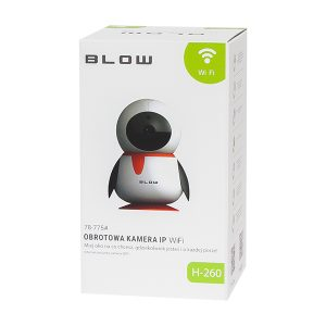 CAMERA BLOW IP WIFI 1080P PINGUIN H-260 5V DC
