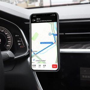 Βάση κινητού για τον αεραγωγό Του Αυτοκινήτου  Hoco CA59 Black