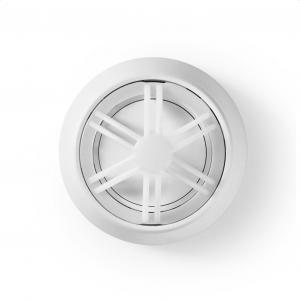 Αισθητήρας θερμότητας με ενσωματωμένη μπαταρία λιθίου ( 10 χρόνια διάρκεια ζωής) και συναγερμό 85+dB.