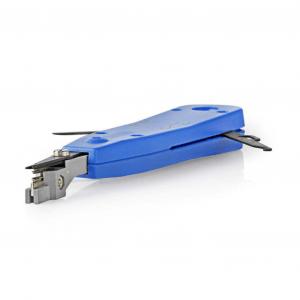 Εργαλείο τερματισμού καλωδίων για KRONE, σε μπλε χρώμα. NEDIS CCGP89555BU