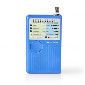 Πολυλειτουργικό tester καλωδίων δικτύου. NEDIS NWCTM100BU