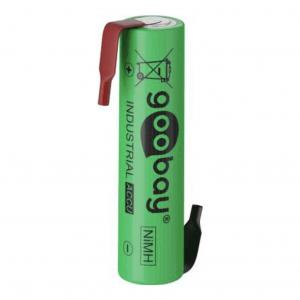 Επαναφορτιζόμενη μπαταρία 1.2V 800mAh AAA (Micro) Ni-MH με λαμάκια.