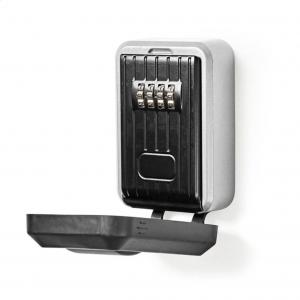 Κλειδοθήκη ασφαλείας με συνδυασμό 4 ψηφίων, σε μαύρο χρώμα. NEDIS KEYCC02BK
