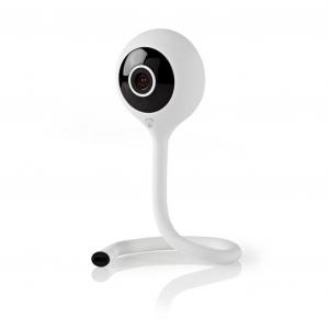 WiFi Smart IP camera Full HD 1080p, με αισθητήρα θερμοκρασίας & υγρασίας. NEDIS WIFICI11CWT
