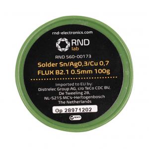 Κόλληση 100gr B2.1 0.5mm. RND 560-00173