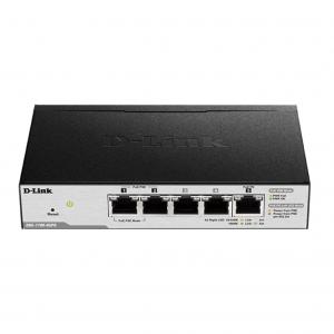 5-Port PoE-Powered Gigabit Smart Managed Switch με 3xGigabit & 2xPoE-ports. D-LINK DGS-1100-05PD