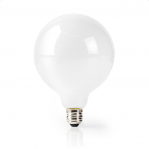 Wi-Fi έξυπνη λάμπα LED, E27, G125, 5W, Warm White, 500lm. NEDIS WIFILF11WTG125