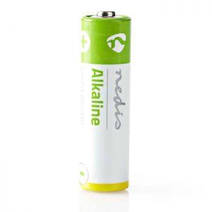 Αλκαλική μπαταρία LR06 AA σε συσκευασία 4 μπαταριών.