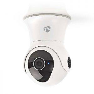 WiFi Smart IP κάμερα Full HD 1080p, για εξωτερικούς χώρους με λειτουργία Pan/Tilt. NEDIS WIFICO20CWT
