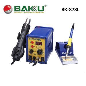 Κολλητήρι σταθμός με θερμό αέρα και ψηφιακή οθόνη, SMD. BAKU BK-878L LED