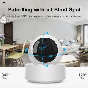 Έξυπνη Ρομποτική IP Camera SONOFF WiFi 1080P 340° SONOFF GK-200MP2-B